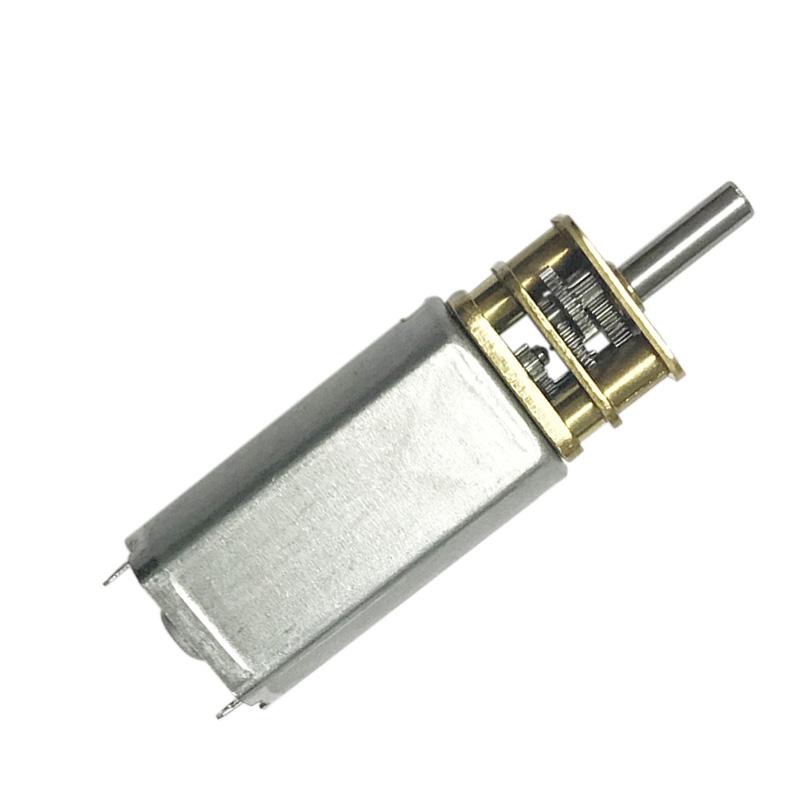 【齊恩】050電子鎖微型有刷電機13GA卷發器專用直流齒輪減速馬達